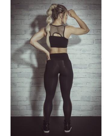 leggings per fitness e tempo libero, abbigliamento tessuto anticellulite e cuscinetti, fuso push up,