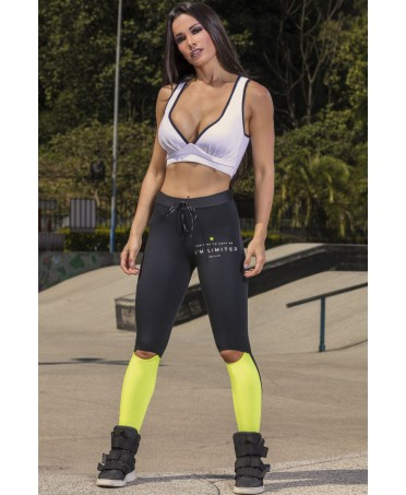 LEGGING YELLOW-BLACK HIPKINI LAUGHED PHOEBE