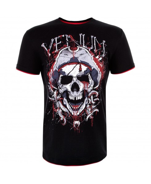 T-SHIRT UOMO NERA PIRATE VENUM
