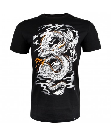 T-SHIRT UOMO NERA DRAGON'S FLIGHT  VENUM