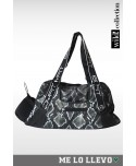 Borsa da palestra Bodyfit con stampa animal pitonata, fantalegging sport online, pinterest leggings fashion,