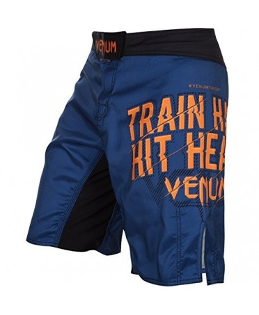 SHORTS MENS BLUE VENUM TRAIN HARD HIT HEAVY