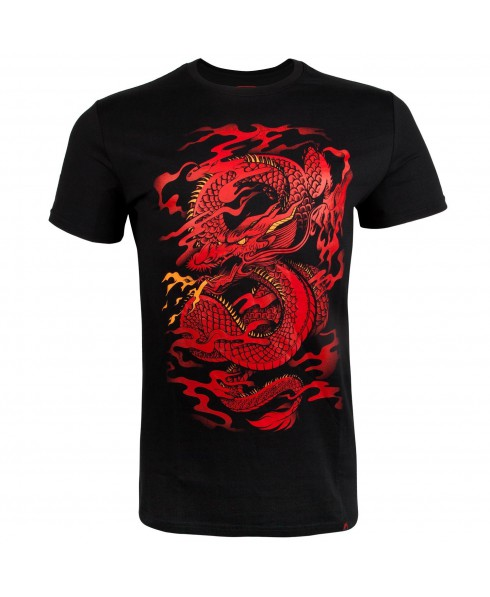 T-SHIRT UOMO NERA VENUM DRAGON'S FLIGHT