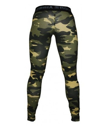 CAMO LEGGING IN FOG. leggings camouflage fog with push-up effect on the buttocks.