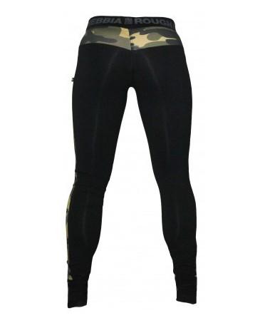 legging militare camo combi nebbia in misto cotone, fuseaux moda militare, pantaloni aderenti elasticizzati body building,