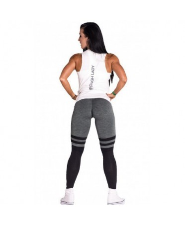 LEGGING OVER THE KNEE TINTA KAKI NEBBIA.