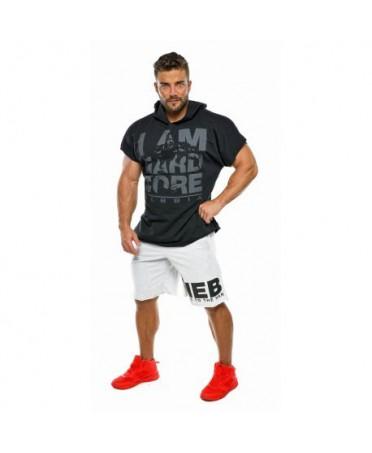 hardcore regtop hoodie black nebbia, moda uomo online, fitness wear uomo, abbigliamento sportivo uomo,