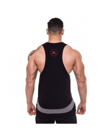 SINGLET BLACK RADIAL MAN BULKING