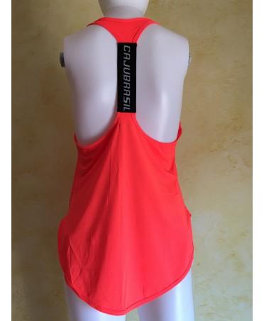 Maglia sportiva donna Cajubrasil, fantalegging abbigliamento online, abbigliamento in tessuto tecnico modellante e traspirante,