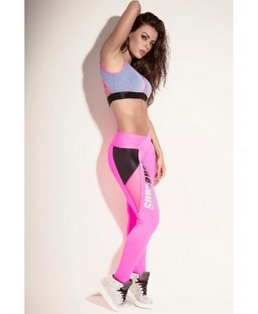 Legging pink fever Superhot su www.fantaleggins.com. Modella, contiene, lascia traspirare il sudore, nasconde la cellulite.