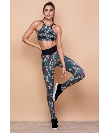 TOP CAMUFLAGE DONNA CANOAN
