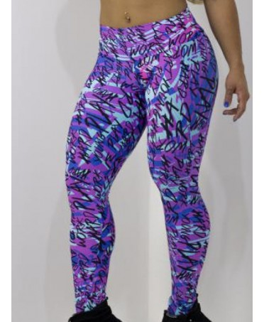 LEGGINGS STAMPATO FANTASIA...