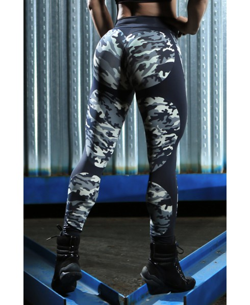 7e59c06c12875 Leggings camouflage Dynamite in supplex light: light, compact, slanica the  line without compressing. The colors are not faded and the leggings, ...