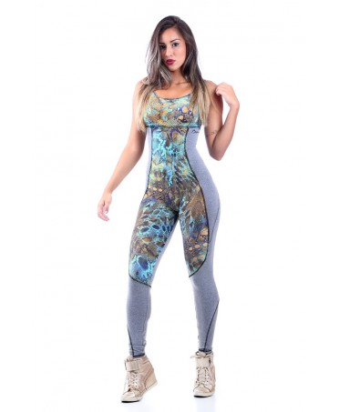 OVERALL FITNESS SUIT PYTHON...