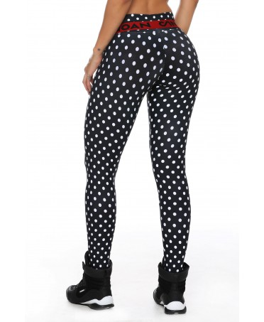 LEGGINGS GYM A POIS CANOAN