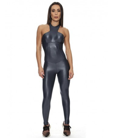 FITNESS GREY OVERALL SUIT...
