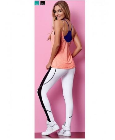 Leggings white Cajubrasil, brazilian fashion for sport and leisure, legging korean fashion,