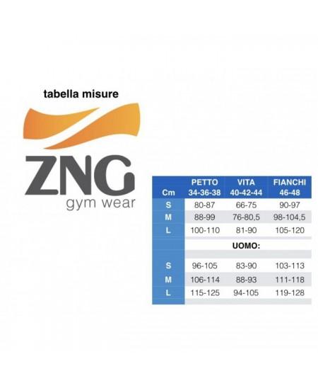 più economico ben noto di prim'ordine FITNESS TOP CONTENITIVO NERO CON RETE NERA BANKOK ZNG