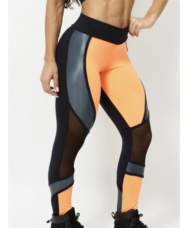 COMPRESSIVE Leggings ORANGE...