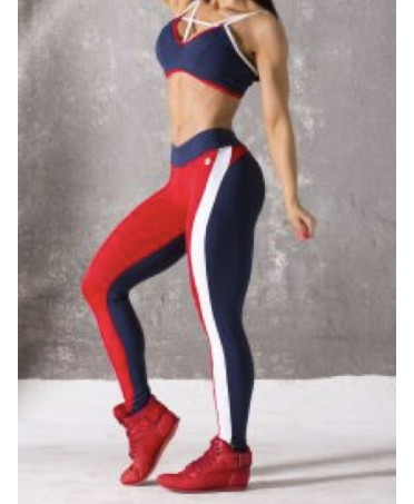 Leggings RED AND BLUE...
