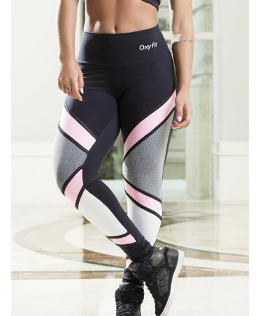 LEGGINGS PINK GREY MAIN OXYFIT