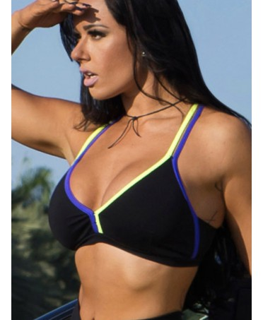 FITNESS TOP WITH PADDED...