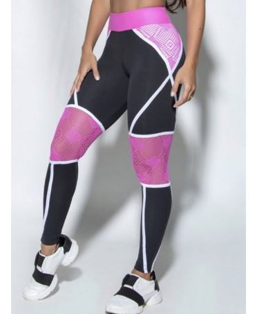 Leggings WITH PINK LACE...