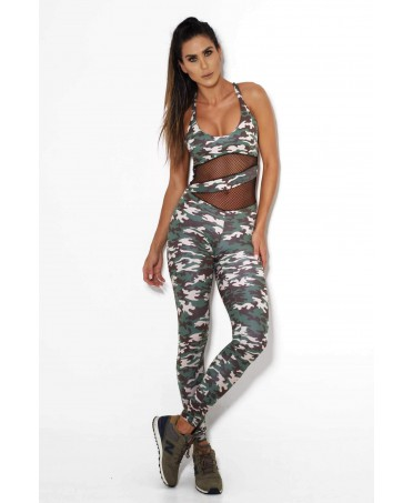 OVERALLS CAMOUFLAGE PUSH-UP...