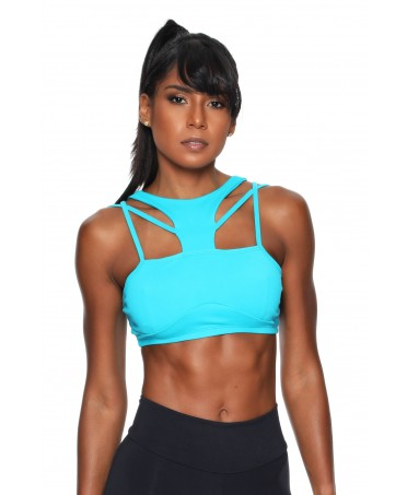 TOP PADDED TURQUOISE SOURCE...
