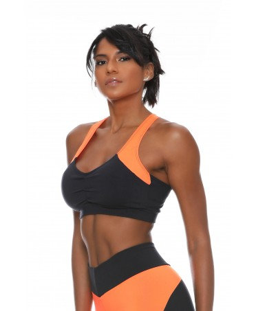 PADDED TOP ORANGE FIT ONE...