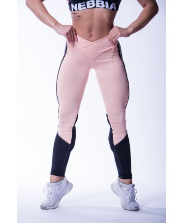 6e12d35b5b6a6b High percentage of elastane to make the leggings in pink, soft and  impalpable, it is adaptable to every movement and shape.