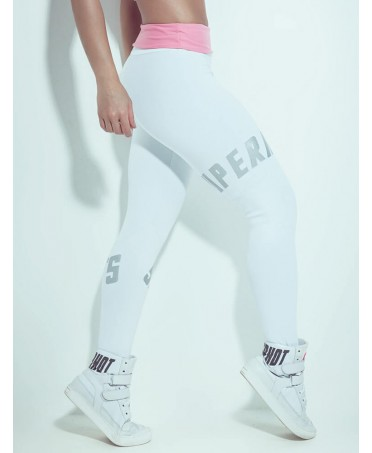 Leggings WHITE AND SILVER...