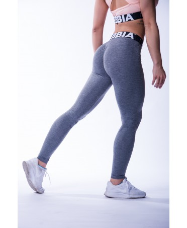 LEGGINGS DARK GRAY NEBBIA