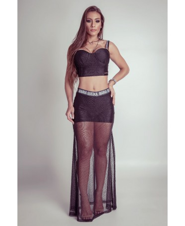 ELEGANT BLACK OUTFIT WITH...