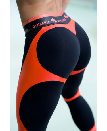 LEGGING PUSH UP NERO...