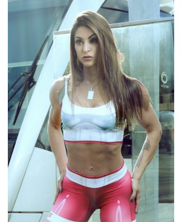 FITNESS TOP STAMPATO...