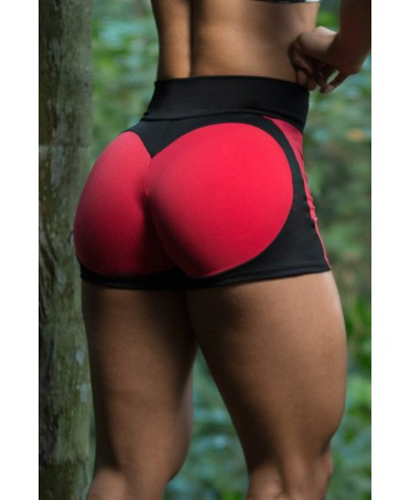 SHORTS PUSH UP ROSSO APPLE...