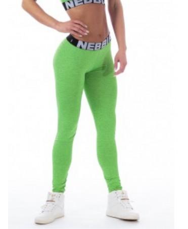 GREEN Leggings MELANGE NEBBIA