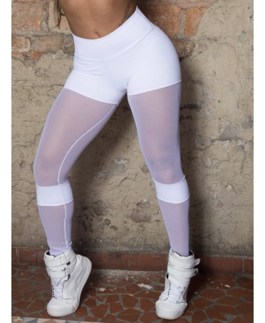 WHITE Leggings WITH...