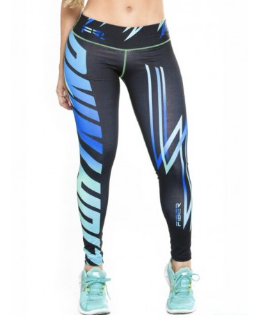 COMPRESSIVE Leggings BLUE...