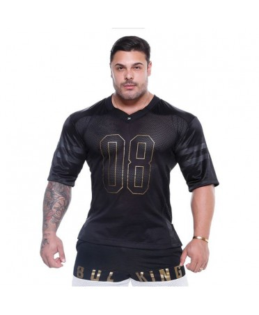 T-SHIRT BLACK AND GOLD MEN...