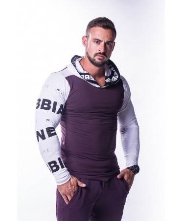 NEBBIA HOODY MEN'S-PURPLE MIST