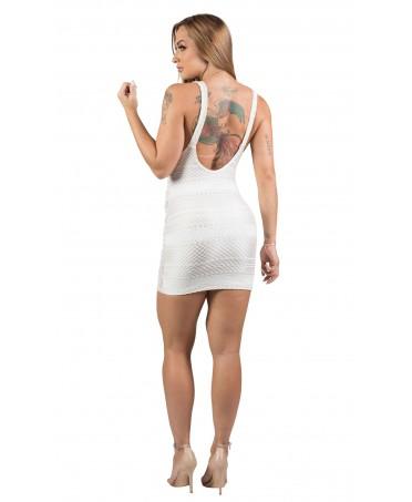 0c9b8e6924af Collezione sexy Maria Gueixa introvabile.Il pizzo del tubino bianco è  resistente, adattabile alle forme in quanto elastico e molto pregiato.
