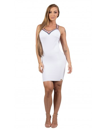 DRESS WHITE ADHERENT MARIA...