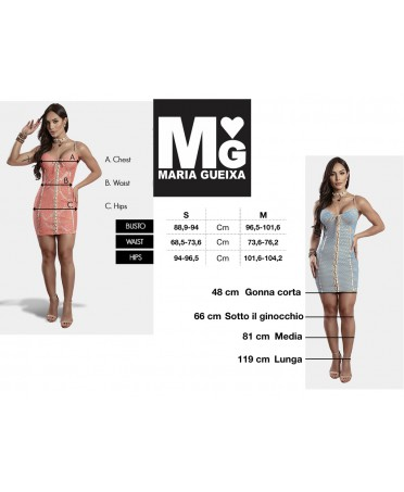 bfd2a23ff7c3 Maria Gueixa is in fact a famous brand in the world for its fashion  collections.Dress without cups at the breast.