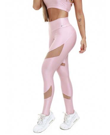 LEGGINGS ROSA LUCIDO...