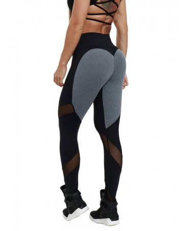 LEGGINGS SHAPING BLACK-GREY...