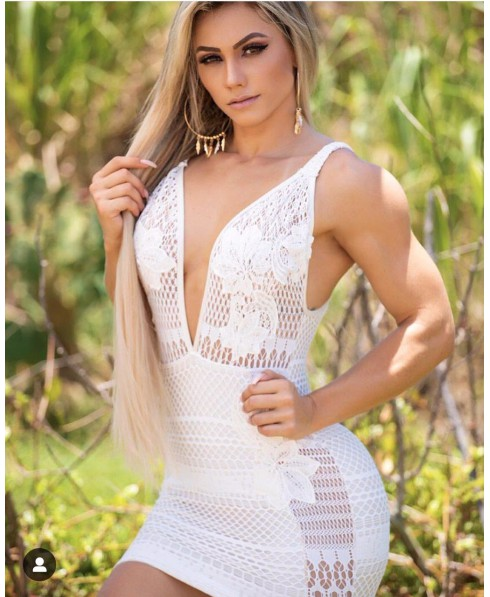 The White Dress Of Lace Maria Gueixa