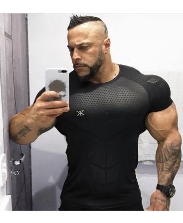 MEN'S T-SHIRT BLACK...