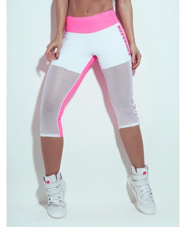 corsaro superhot bianco e rosa on line. fantaleggins.com: store hight quality leggings